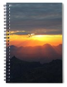 Windy Point Sunset 2 Spiral Notebook