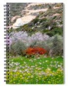 Windy Spring Day Spiral Notebook