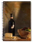 Wine And Cheese 1 Spiral Notebook
