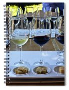 Wine And Cheese Tasting Spiral Notebook