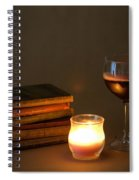 Wine And Wonder B Spiral Notebook