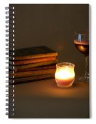 Wine And Wonder C - Square Spiral Notebook