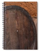 Wine Barrel Spiral Notebook