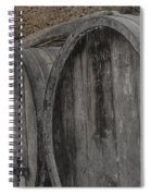 Wine Barrels Spiral Notebook