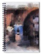 Wine Cellar Photo Art Spiral Notebook