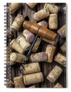 Wine Corks Celebration Spiral Notebook