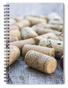 Wine Corks Spiral Notebook