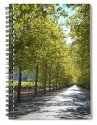 Wine Country Napa Spiral Notebook