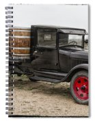 Wine Delivery Truck Spiral Notebook