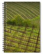 Wine Design Spiral Notebook