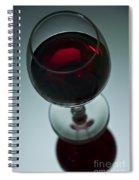 Wine Glass 2 Spiral Notebook