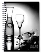 Wine Glasses Spiral Notebook