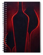 Wine Glow Spiral Notebook