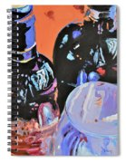 Wine Party Spiral Notebook