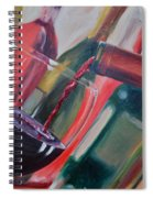 Wine Pour IIi Spiral Notebook