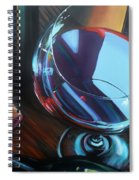 Wine Reflections Spiral Notebook