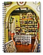 Wine Shop Spiral Notebook