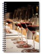 Wine Tasting Spiral Notebook