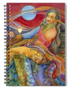 Wine Woman And Song Spiral Notebook