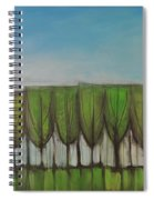 Wineglass Treeline Spiral Notebook
