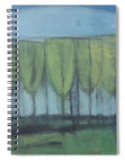 Wineglass Trees Spiral Notebook