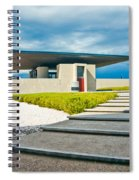 Winery Modernism Spiral Notebook