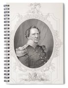 Winfield Scott 1786-1866 From The History Of The United States, Vol. II, By Charles Mackay Spiral Notebook