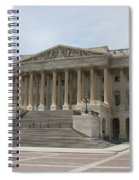 Wing Of The Capitol - Washington Dc  Spiral Notebook