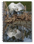 Wing Up Reflection Spiral Notebook