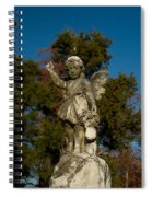 Winged Girl 12 Spiral Notebook