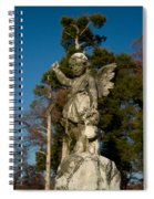 Winged Girl 13 Spiral Notebook