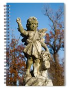 Winged Girl 3 Spiral Notebook