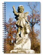 Winged Girl 5 Spiral Notebook