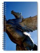 Winged Wonder I Spiral Notebook