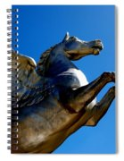 Winged Wonder II Spiral Notebook