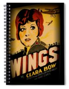 Wings Of Yesterday Spiral Notebook