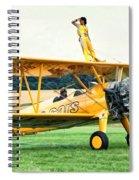 Wingwalking Spiral Notebook