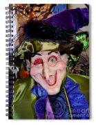 Winkin Wizard Spiral Notebook