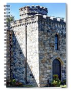 Winnekenni Castle Front View Spiral Notebook