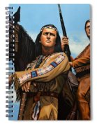 Winnetou And Old Shatterhand Spiral Notebook