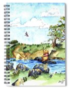 Imagining The Hunny  After E  H Shepard Spiral Notebook