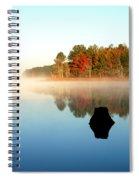 Winnsboro Reservoir-1 Spiral Notebook