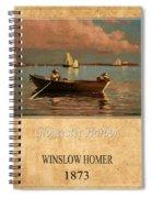 Winslow Homer 1 Spiral Notebook