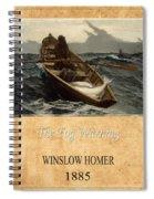 Winslow Homer 4 Spiral Notebook