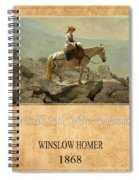 Winslow Homer 5 Spiral Notebook