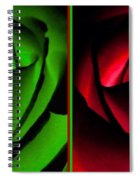Winsome Roses Pair Spiral Notebook
