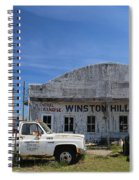 Winston Hill Spiral Notebook