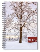 Winter Arrives Spiral Notebook