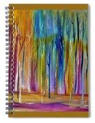 Winter Aspen Spiral Notebook