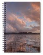Winter At Big Lagoon Spiral Notebook